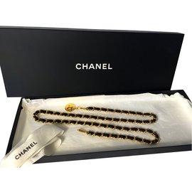 Chanel-Ceinture-Doré
