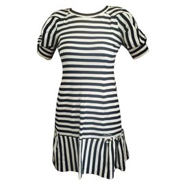 Louis Vuitton-Robes-Blanc