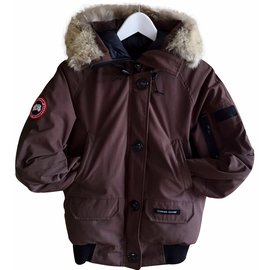 Canada Goose-Coats, Outerwear-Brown
