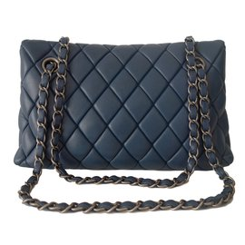 Chanel-Handbags-Blue