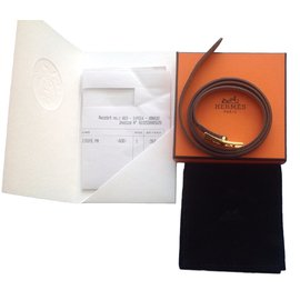 Hermès-Bracelets-Taupe dark grey
