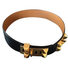 Hermès-Belts-Black