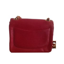 Chanel-Clutch bags-Red