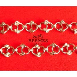 Hermès-Sautoirs-Argenté