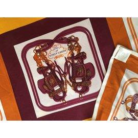 Hermès-Foulards, écharpes-Multicolore