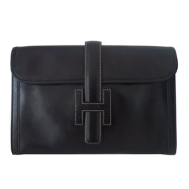 Hermès-Clutch bags-Black