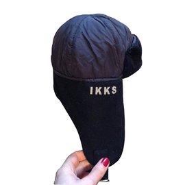 Ikks-Hats Beanies Gloves-Black
