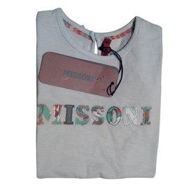 M Missoni-Tops Tees-Green