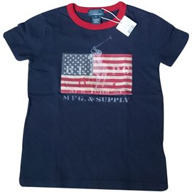 Polo Ralph Lauren-Tops Tees-Blue