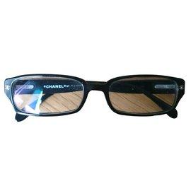 Chanel-Monture lunettes de vue-Noir