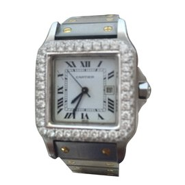 Cartier-Automatic watches-Silvery