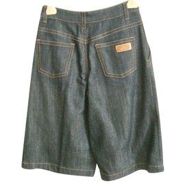 Gucci-Shorts-Bleu