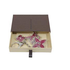Louis Vuitton-Porte clés ou bijoux de sac-Rose