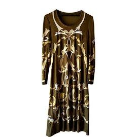 Hermès-Dresses-Khaki