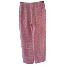 Chanel-Pants, leggings-Red
