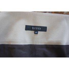 Gucci-Jupe-Beige
