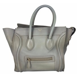 Céline-Handbags-Grey