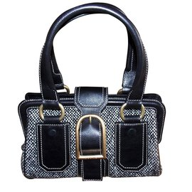 Céline-Handbags-Black