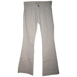 J Brand-Jeans-Blanc