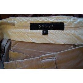 Gucci-Pantalons-Beige