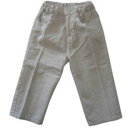 Armani-Pantalons garçon Armani Baby-Blanc