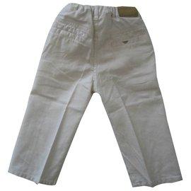 Armani-Pants-White