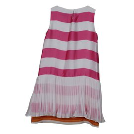 Autre Marque-Robe fillette Monnalisa-Multicolore