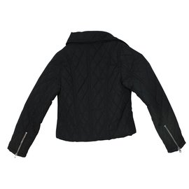 Dkny-Coats outerwear-Black