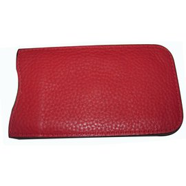 Burberry-Purses, wallets, cases-Red