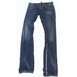 Dsquared2-Jeans-Bleu