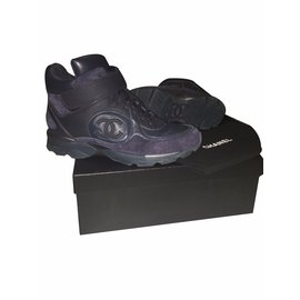 Chanel-Sneakers-Blue