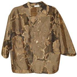 Dries Van Noten-veste chemise-Multicolore