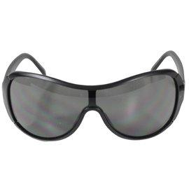 Yves Saint Laurent-Sonnenbrille-Schwarz