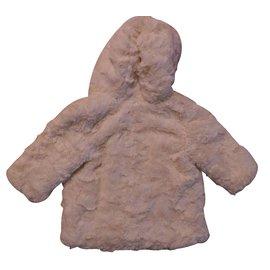 Chloé-Coats, Outerwear-Beige