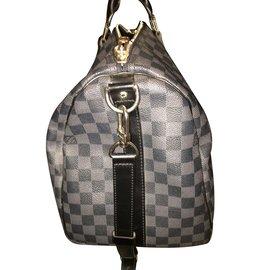 Louis Vuitton-Keepall 45-Gris