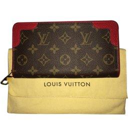 Louis Vuitton-Zippy recaro-Marron