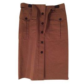 Hermès-Skirt-Caramel