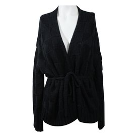 Dries Van Noten-Cardigan-Noir