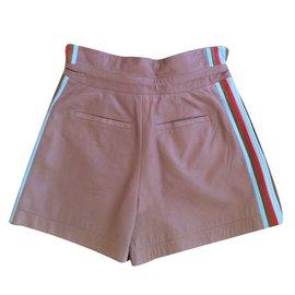 Chloé-Shorts-Beige