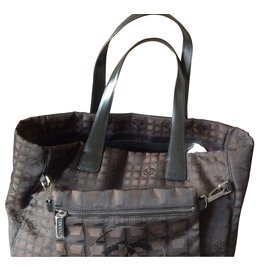 Chanel-Totes-Brown