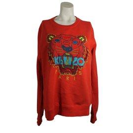 Kenzo-Sweat Tigre-Rouge