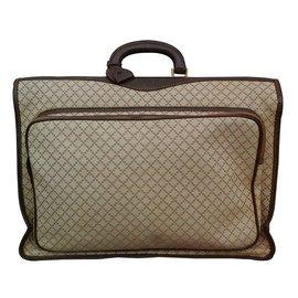 Gucci-bagage vintage-Beige