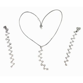 Chanel-Jewellery sets-White
