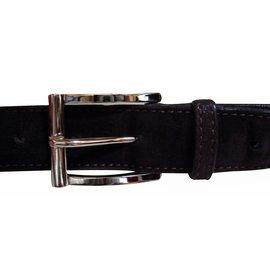 JM Weston-Belts-Brown