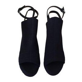 Balenciaga-Espadrille en Néoprène. Balenciaga noir-Noir