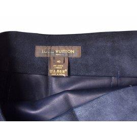 Louis Vuitton-Jupes-Bleu