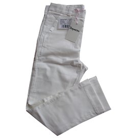 Repetto-pantalon-Écru