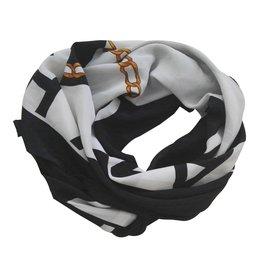 Chanel-Silk scarves-White