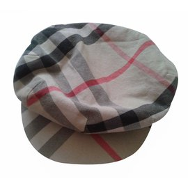 Burberry-Beret-Multicolore