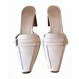 Chanel-Mules-Cream